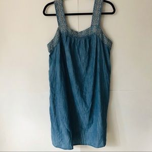 Universal Thread | Chambray Embroidered Sundress